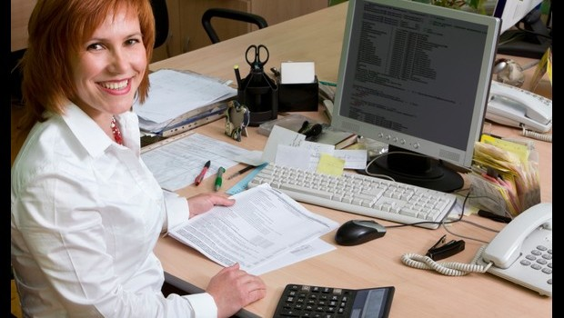 a woman leading specialist at her work place